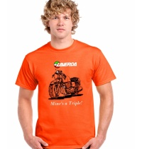 Orange MAT shirt